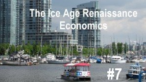 Link scene to video series 'Science Decapitated and Recovery' part 7: Ice Age Renaissance Economics.
