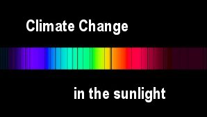 Link scene to video page: Climate Change in the Sunlight.