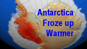 Link scene to video page: Antarctica Froze up Warmer.