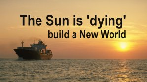 Link scene to video page: The Sun is Dying, Build a New World.