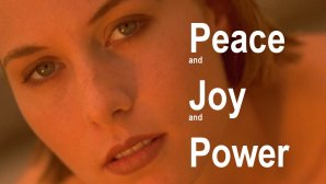 Link scene to video page: Peace and Joy and Power.