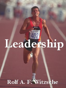 Link, book cover image for history research by Rolf Witzsche: Leadership.